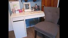 my micke desk vanity from ikea review