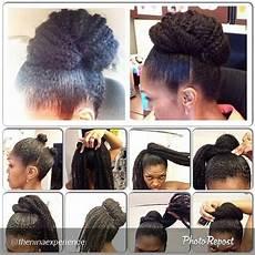 10 more stunning natural hair pictorials marley hair bun marley hair and hair buns
