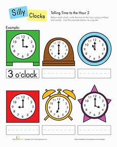telling time by the hour worksheets for kindergarten 3602 telling time to the hour worksheet education