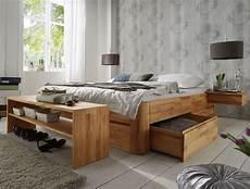 Schubkasten Liege Quot Zarbo Quot Schlafzimmer Massivholz Bett