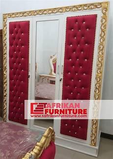 Home Klik Lemari Baju lemari baju ukir jok merah kayu mahoni perhutani
