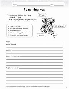 handwriting worksheets for grade 3 21892 something new grade 3 opinion writing lesson printable skills sheets and assessment tools
