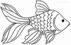 printable goldfish coloring pages for