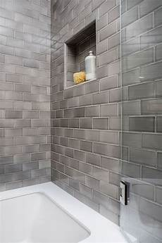 tiling ideas for a small bathroom bathroom reno with grey subway tile home bunch interior design ideas