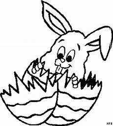 osterhase mit ostereiern ausmalbild malvorlage comics