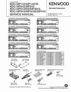 kenwood kdc mp142 242 243 3043 343 443 sm service manual download schematics eeprom repair