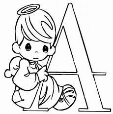 ausmalbild buchstaben lernen niedliche schrift a