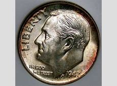 value of roosevelt dimes 1946 present
