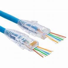 Platinum Tools 100010c Ez Rj45 Cat6 Connectors 50 Pc