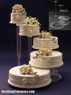 details about 5 tier cascading wedding cake stand stands