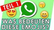 bedeutung der smileys emojis bedeutung erkl 228 rt teil 1 whatsapp emojis und