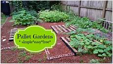 pallet gardens simple easy free the coastal homestead