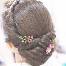 35 wedding updos for medium hair wedding