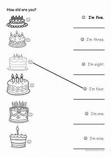 how old are you worksheet free esl printable worksheets