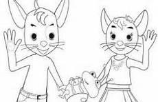 Ausmalbilder Zum Ausdrucken Hanni Und Nanni Malvorlagen Bobo Siebenschl 228 Fer Coloring And Malvorlagan