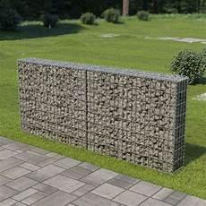 Mur 224 Gabion Avec Couvercles Acier Galvanis 233 200 X 20 X 85