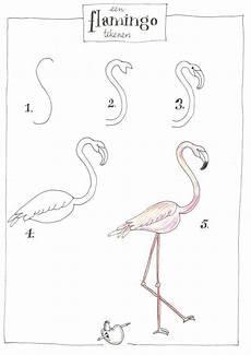 Comment Dessiner Un Flamant Comment Dessiner Un Flamant Flamant Flamingo Ideas En