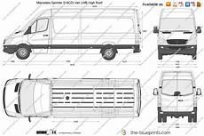 The Blueprints Vector Drawing Mercedes