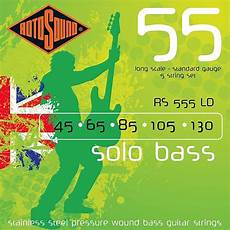 Rotosound Rs555ld Stainless Steel Pressure Wound