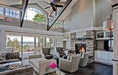 paint colors in the blue family grey paint colors family room traditional with exposed trusses great room beeyoutifullife com