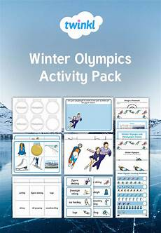 winter worksheets ks1 20027 use this winter olympics activity pack to encourage early years and ks1 children to learn more