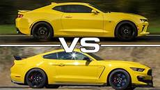2016 chevrolet camaro ss 2016 ford mustang shelby