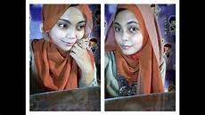 Cara Memakai Jilbab Pashmina 2 Warna Edisi Lebaran L