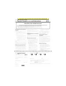 form il 501 payment coupon and instructions 2016 printable pdf download