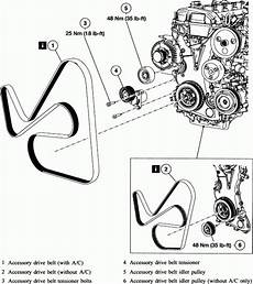 2002 mazda tribute engine diagram repair guides engine mechanical components accessory drive throughout 2002 mazda tribute