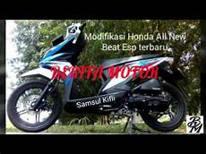 Modifikasi Beat Terbaru by Modifikasi Honda All New Beat Esp Terbaru