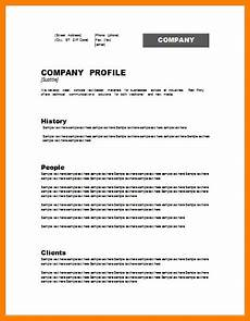 6 company profile template introduction letter