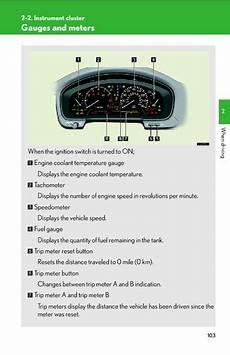 download car manuals 2008 lexus sc instrument cluster 2006 lexus ls430 instrument cluster pdf manual 7 pages