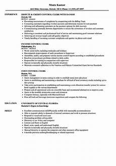 control clerk resume sles velvet jobs