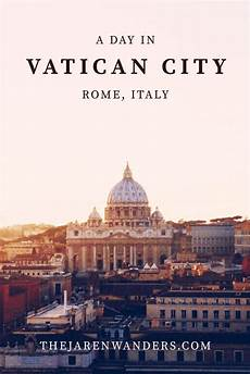 a day in vatican city travel europe pinterest
