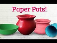 p0tzxs creative realistic paper pot diy newspaper