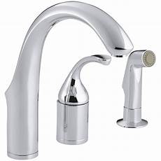 3 kitchen faucets kohler fort 233 three remote valve kitchen sink faucet with sidespray reviews wayfair ca