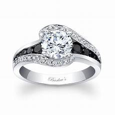 barkev s modern black diamond engagement ring 7898lbk barkev s