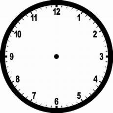 blank clock clipart etc
