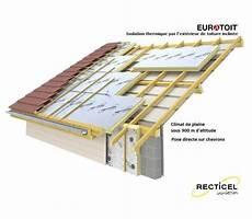 prix isolation toiture par l extérieur sarking polyurethane eurotoit paquet s de 5 76 m 178
