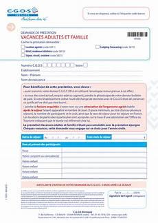 T 201 L 201 Charger Formulaire Cheque Vacances Cgos Gratuitement