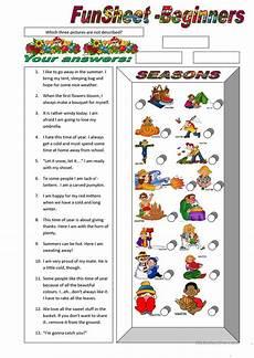 seasons exercises worksheets 14790 funsheet for beginners seasons worksheet free esl printable worksheets made by teachers