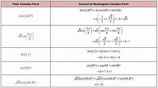 trigonometry complex numbers