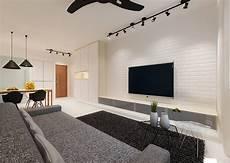 hdb 4 room bto scandinavian blk 327c anchorvale horizon living room lighting white brick