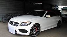 mercedes classe c 2011 79398 2017 mercedes c200 cabriolet startup and review