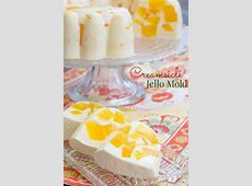 creamy orange gelatin_image