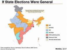 elections 2019 if india s 2014 2018 state elections were the general elections