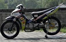 Jupiter Modif Road Race by Gambar Modifikasi Jupiter Z Road Race Paling Sporty Dan Keren
