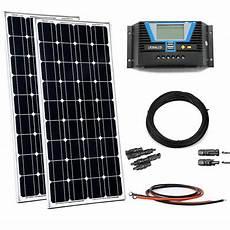300w Solaranlage Solar Bausatz Inselanlage Set Garten