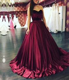 Burgundy Wedding Gowns