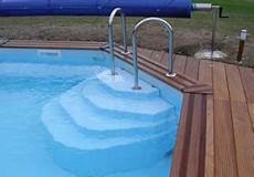 escalier bois piscine hors sol vente d escalier pour piscine 224 fon plat escaliers pour
